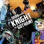 Lego Batman: The Videogame Comic Book Wallpaper