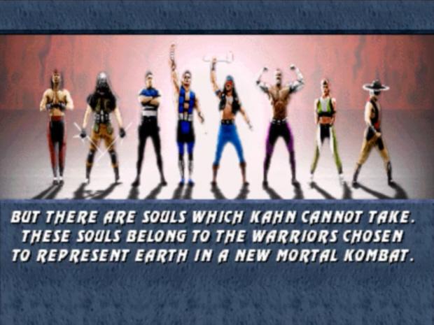 Mortal Kombat 3 walkthrough artwork from story board