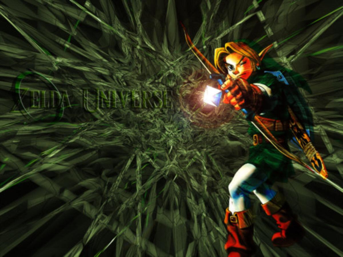 Ocarina Of Time 3d Wallpaper Arrow