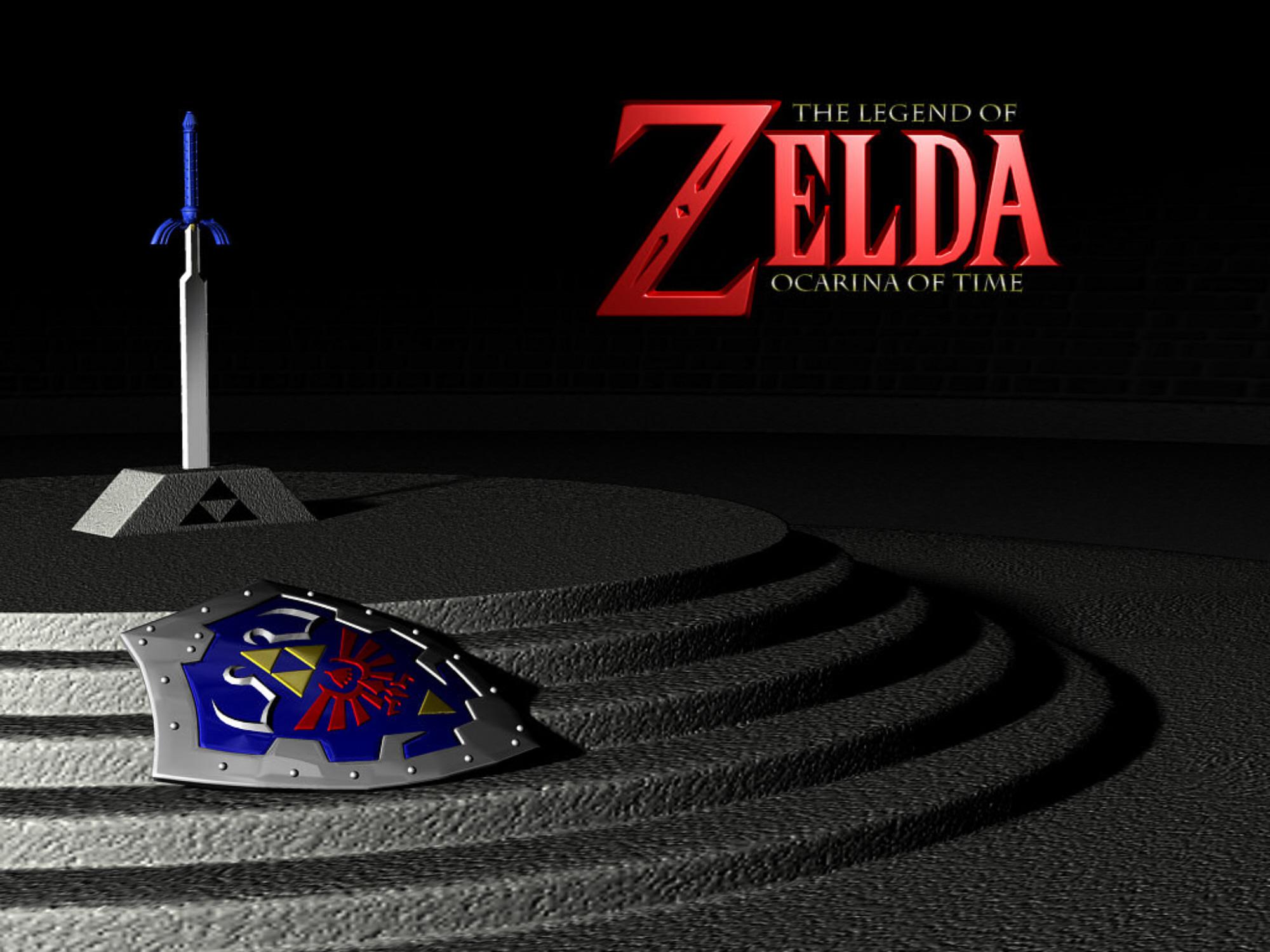 The Legend Of Zelda Ocarina Of Time 3d Wallpaper