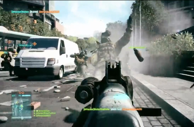 Battlefield 3 multiplayer screenshot
