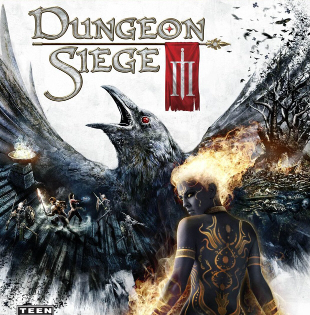 Dungeon Siege 3 walkthrough box artwork