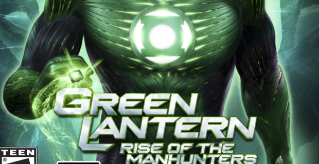 Green Lantern: Rise of the Manhunters walkthrough box artwork