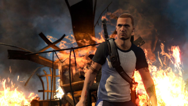 InFamous 2 Trophies guide screenshot - SURVIVING THE FIRE!