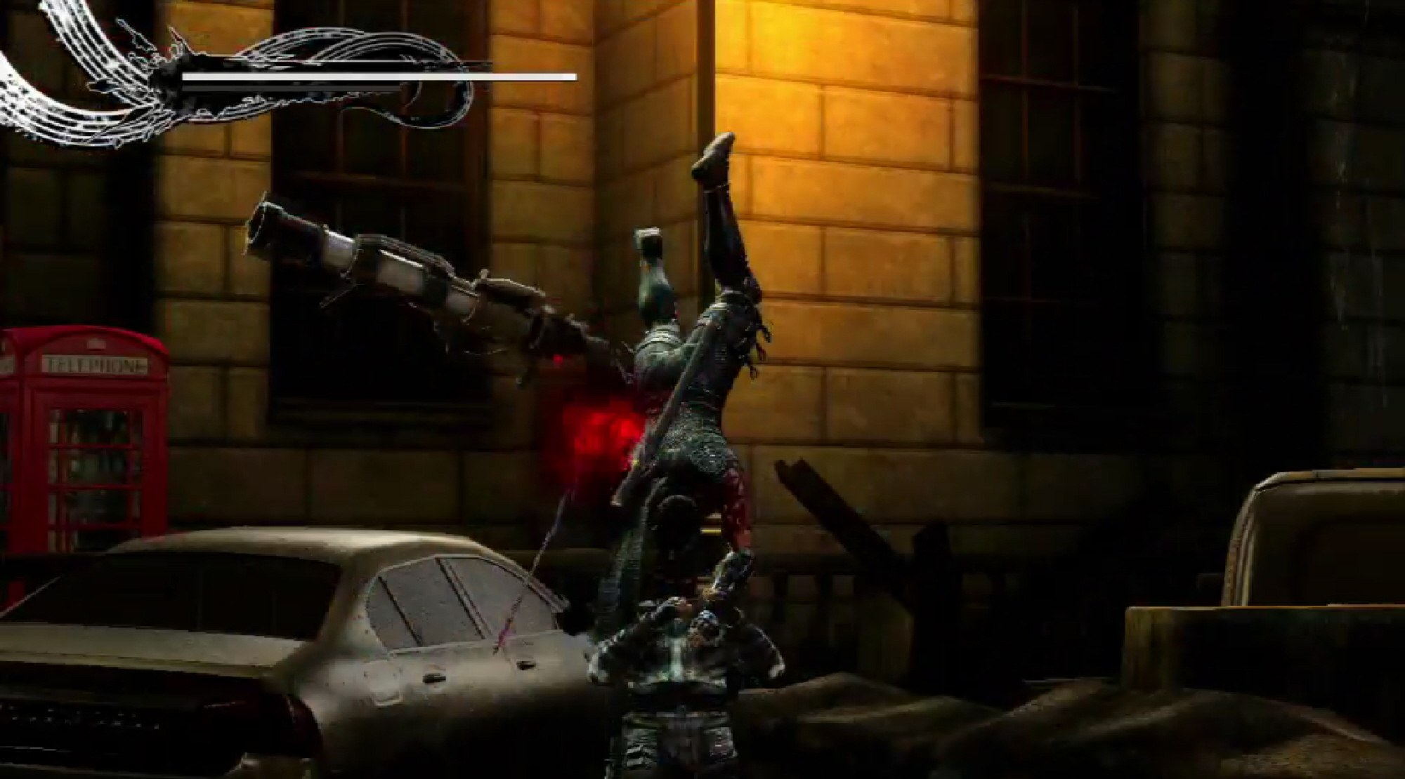 Ninja Gaiden 3 Razors Edge Screenshot