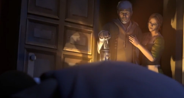 Ezio Is Old In This Assassin S Creed Embers Animated Movie Screenshot