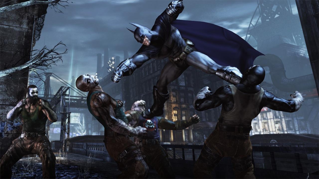 Batman Arkham City Wallpaper Takedown