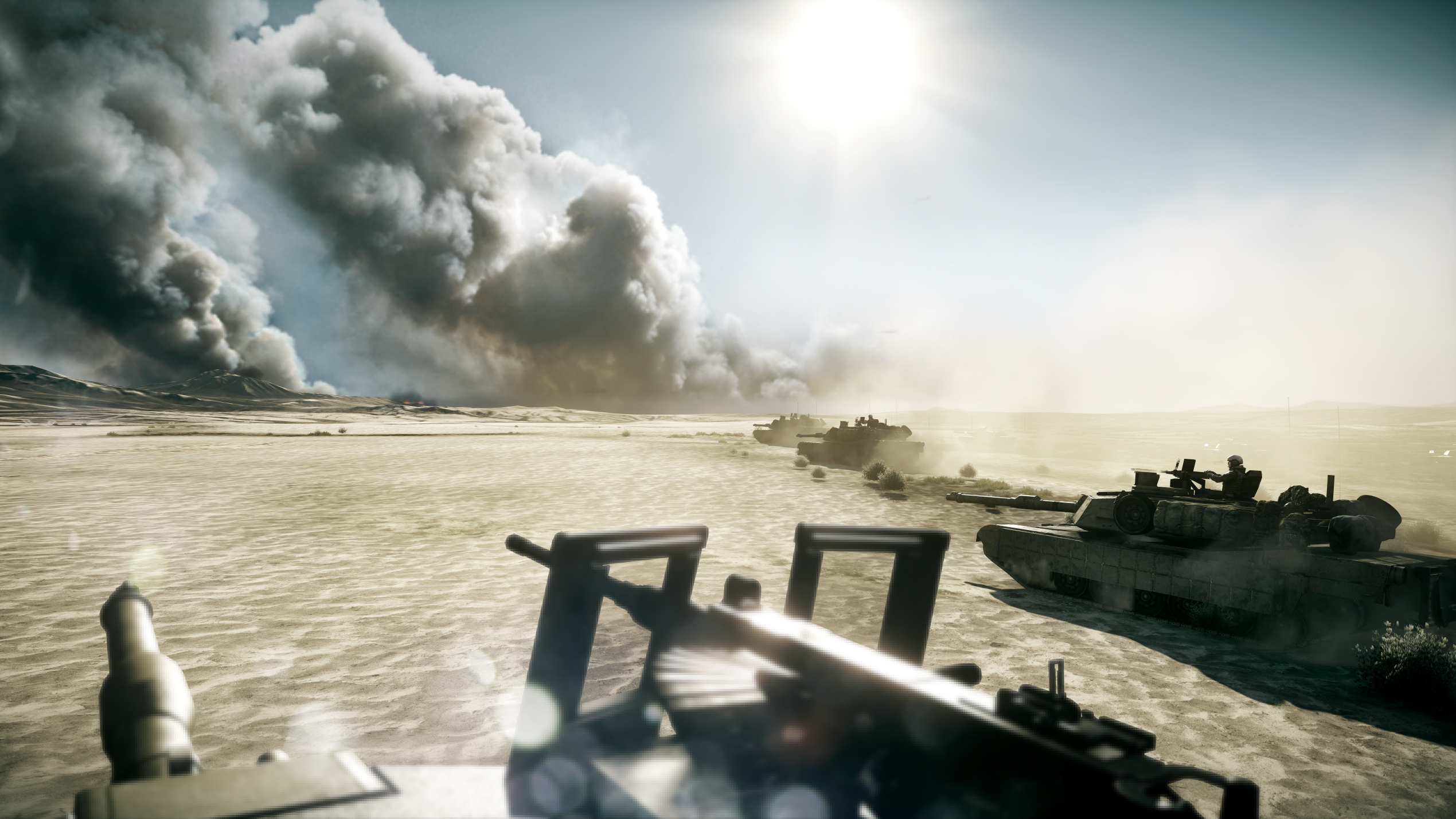 Battlefield 3 Wallpaper Real Tanks