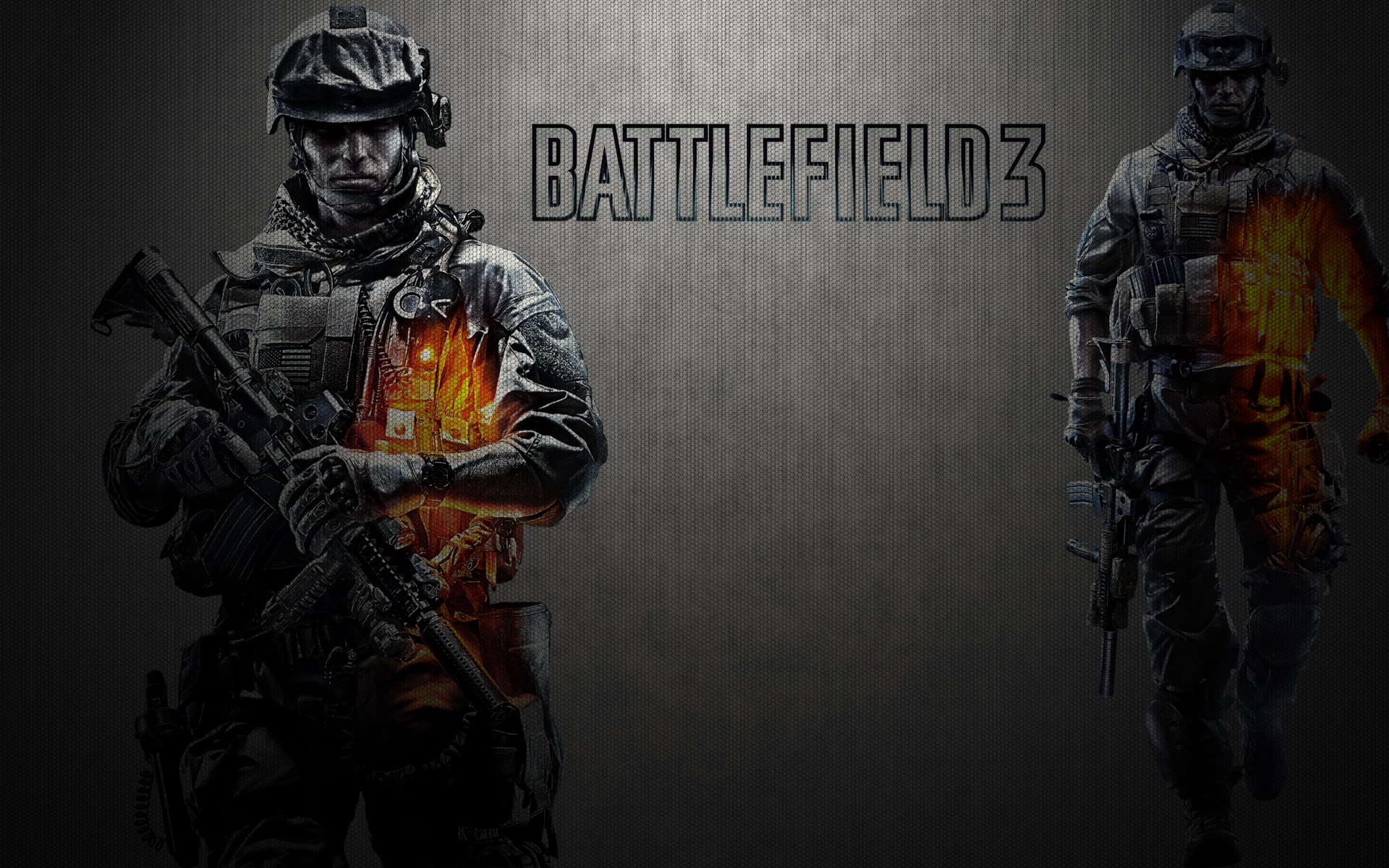 Battlefield 3 Wallpaper Soldier By Therealking94