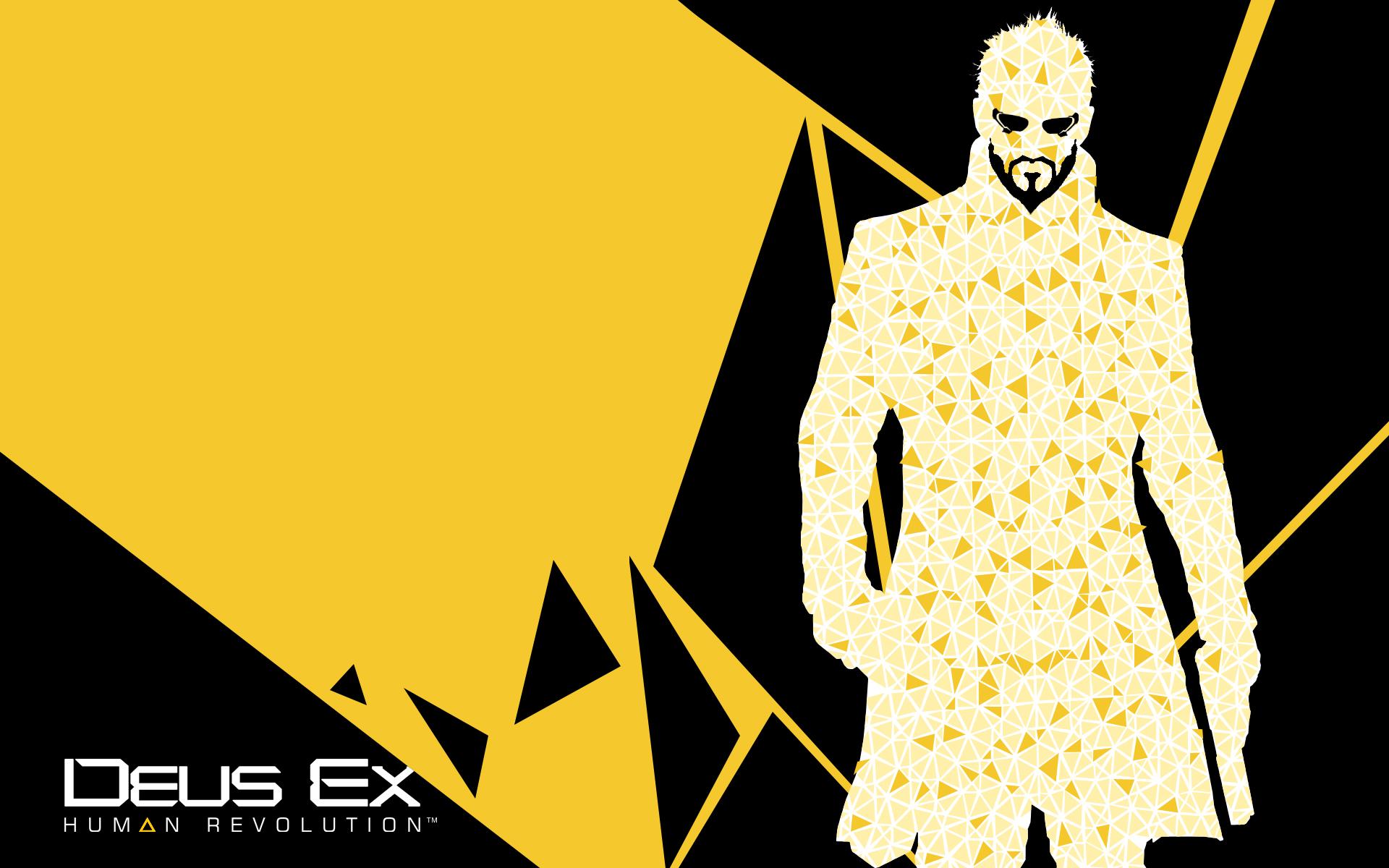 Deus Ex Human Revolution Wallpaper Triangular