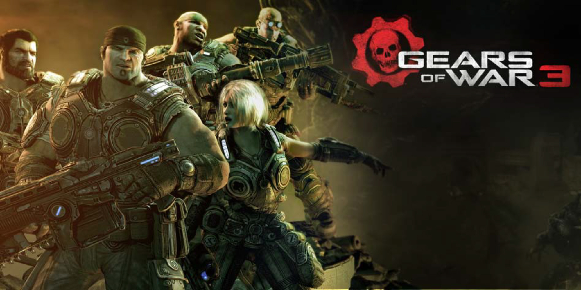 Gears Of War 3 Wallpaper Team