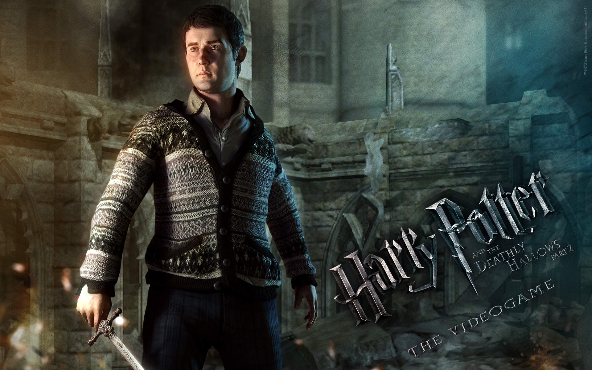 Neville Wallpaper from Harry Potter and the Deathly Hallows: Part 2 The Video Game