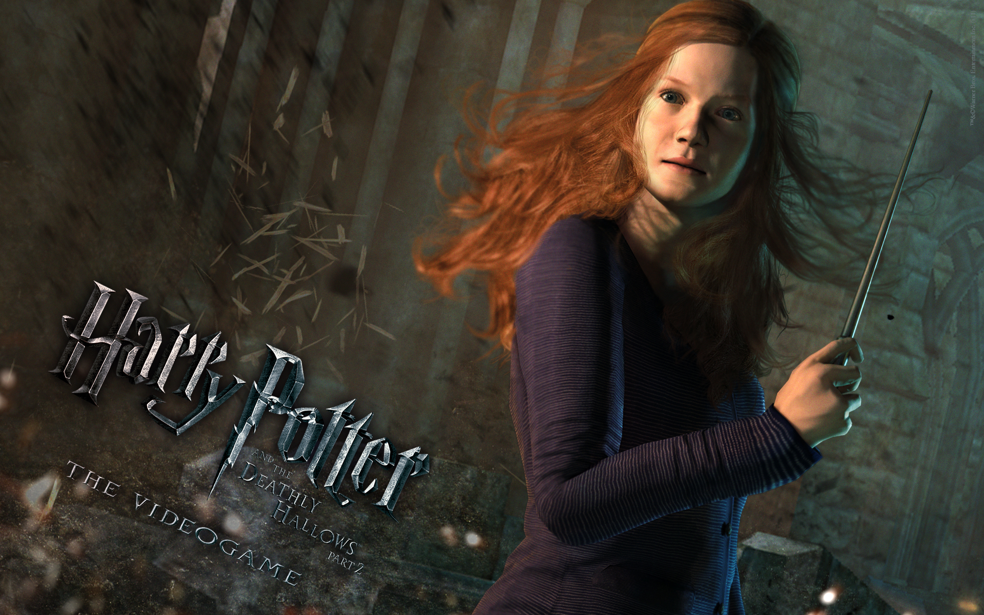 Ginny Wallpaper from Harry Potter and the Deathly Hallows: Part 2 The Video Game