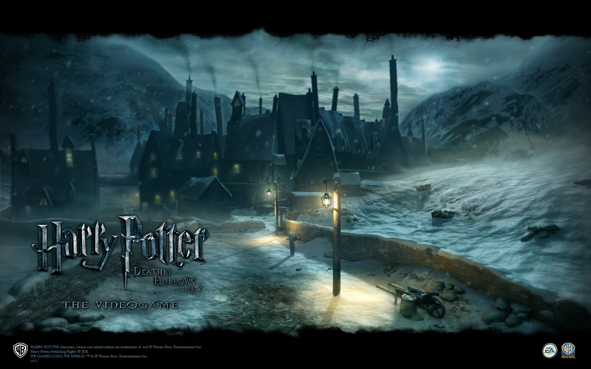 Hogsmeade Wallpaper from Harry Potter and the Deathly Hallows: Part 2 The Video Game