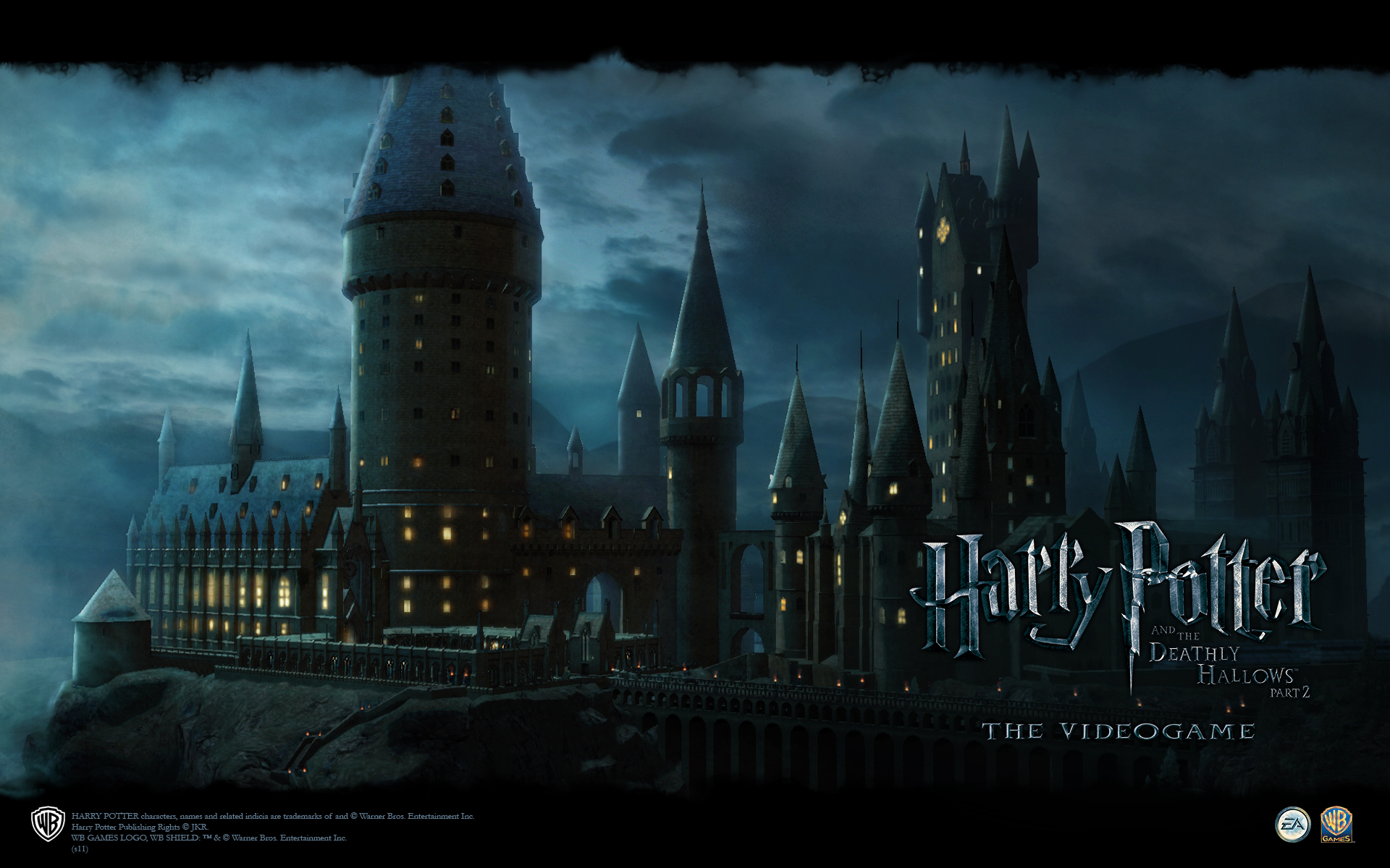 Hogwarts Wallpaper From Harry Potter And The Deathly Hallows Part