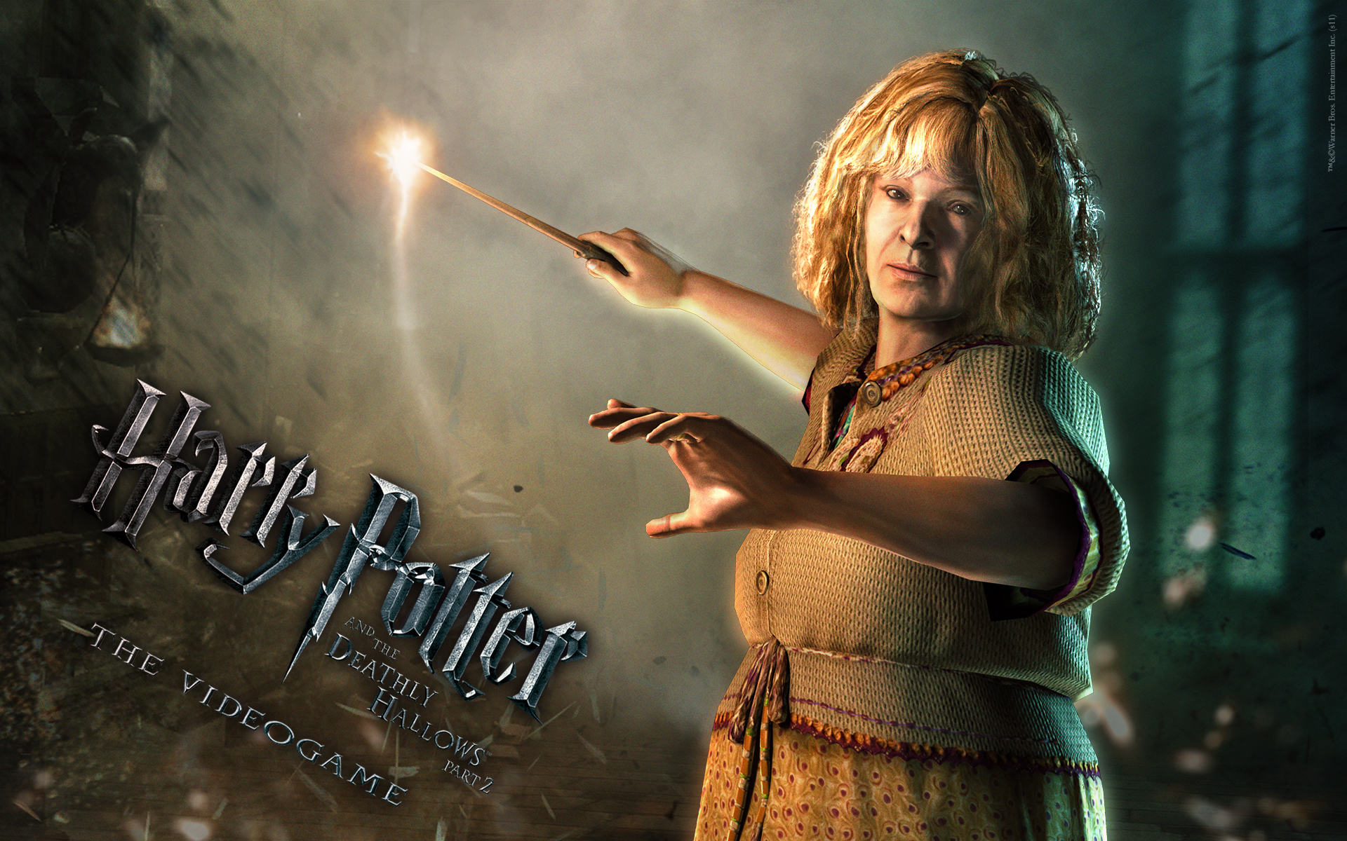 Molly Wallpaper From Harry Potter And The Deathly Hallows Part 2