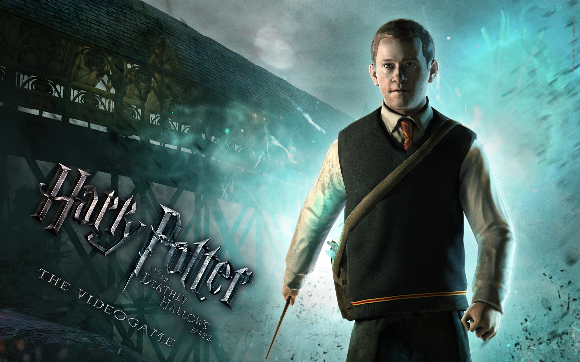 Seamus Wallpaper from Harry Potter and the Deathly Hallows: Part 2 The Video Game