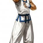 King of Fighters XIII Kim Kaphwan Character Artwork