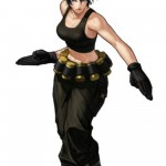 King of Fighters XIII Leona Character Artwork
