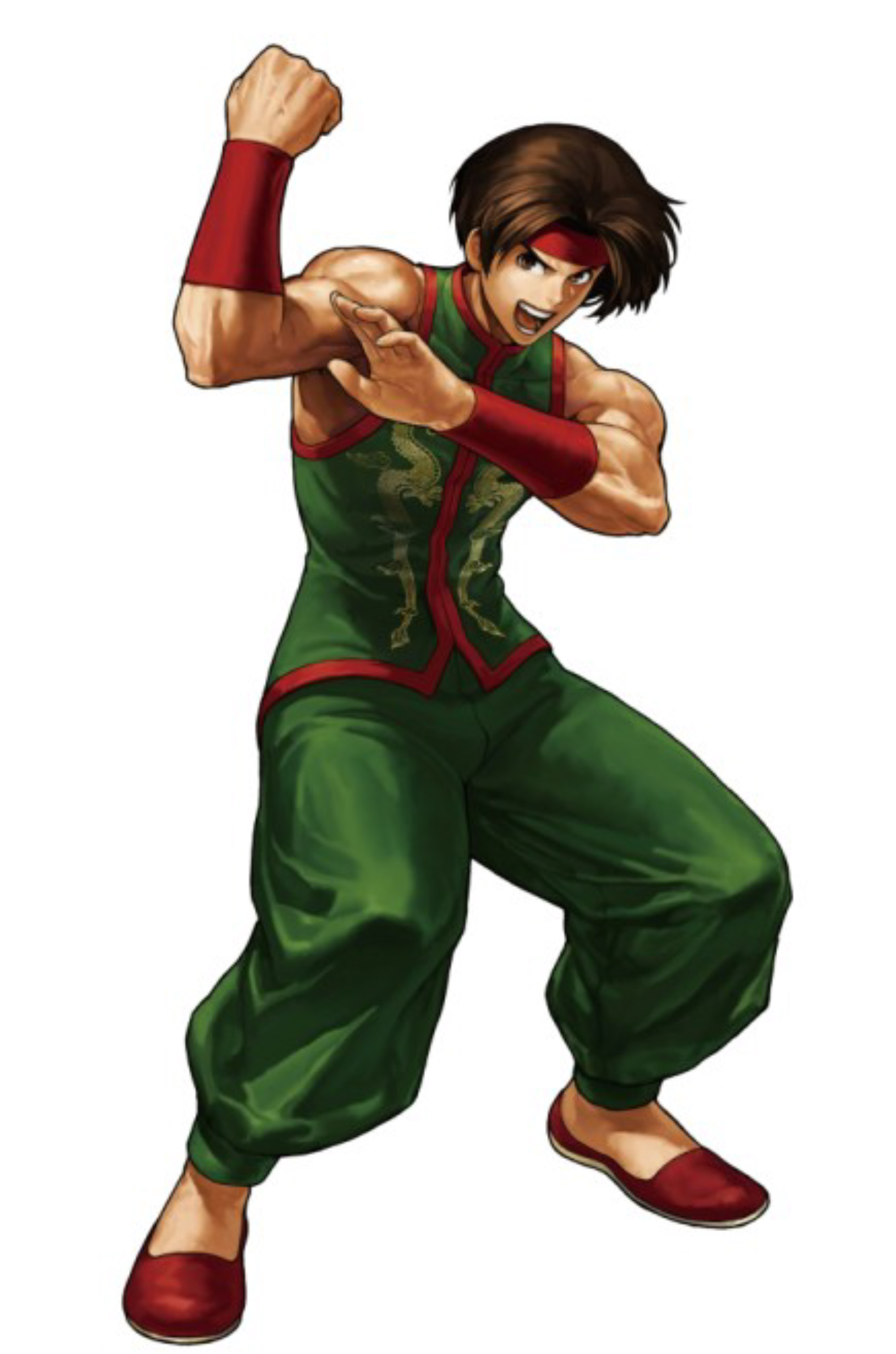 King of fighters xiii sie kensou character artwork - King of fighters characters pictures ...