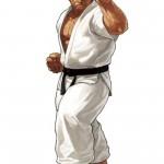 King of Fighters XIII Takuma Sakazaki Character Artwork