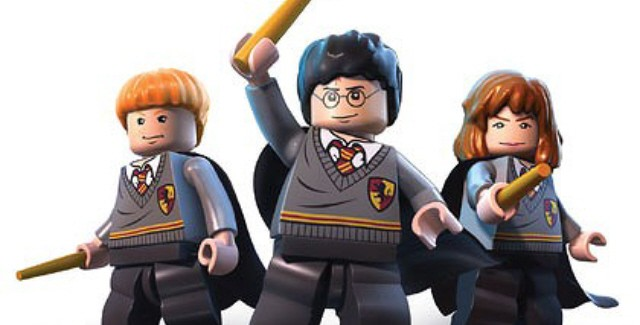 Harry, Hermione and Ron from Lego Harry Potter: Years 5-7