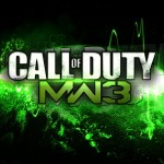 Call of Duty: Modern Warfare 3 Wallpaper Logo Splash