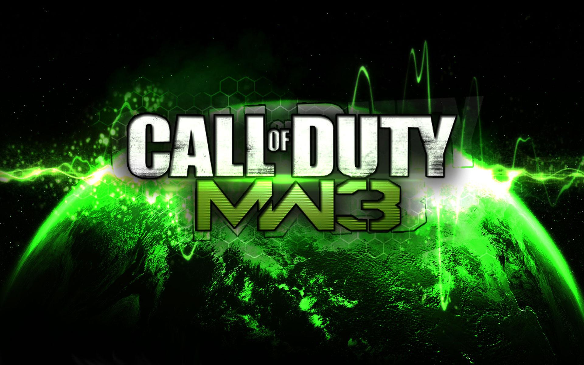 Call Of Duty Modern Warfare 3 Wallpaper Logo Splash