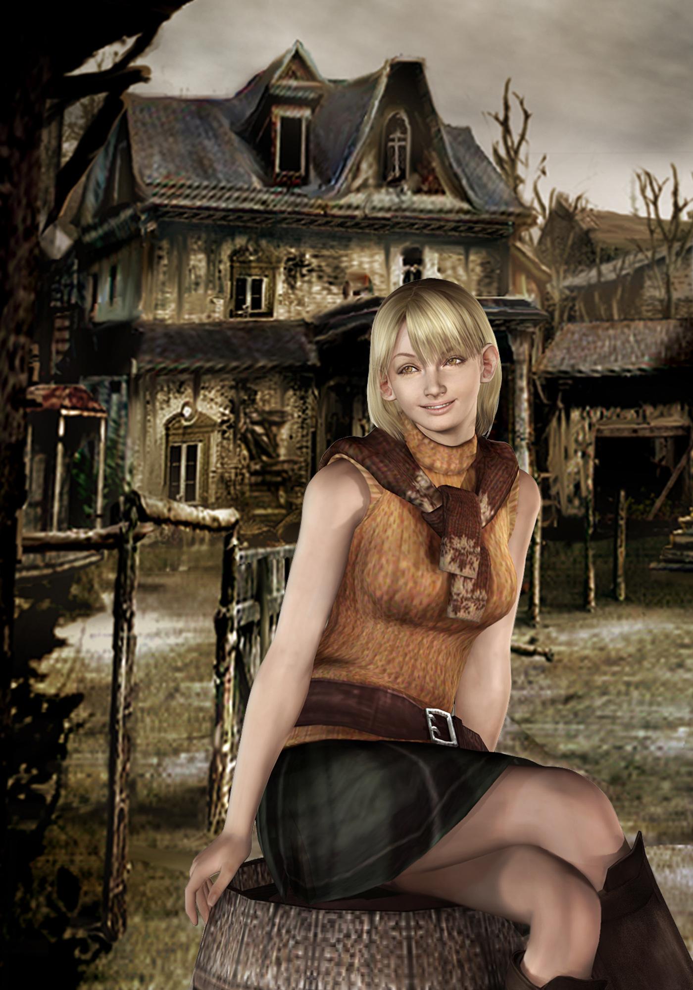 President's Daughter Ashley Graham - Resident Evil 4 art