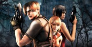Resident Evil 4 Artwork - Ada, Leon and Ashley Castle in Background