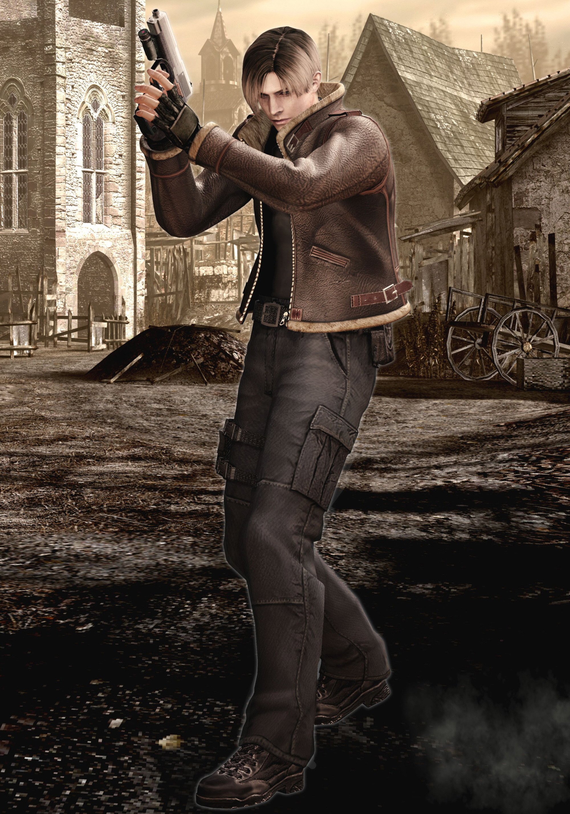 Resident Evil 4 Artwork Evil Village