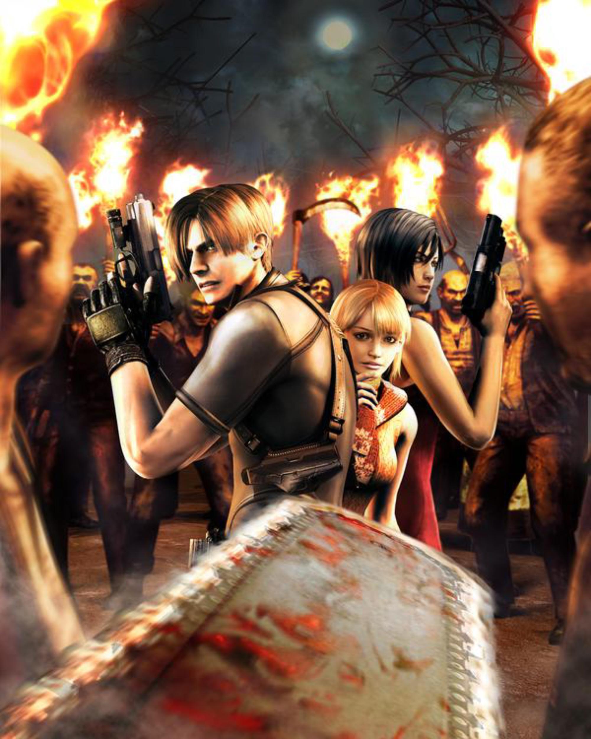 Zombies Surround Us Resident Evil 4 Artwork