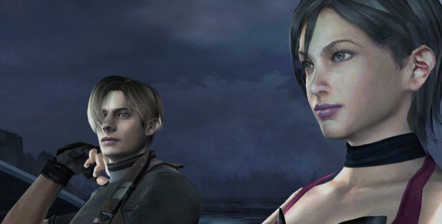 Beautiful Ada Wong in Resident Evil 4 HD remake (Xbox Live Arcade Xbox 360, PlayStation Network PS3)
