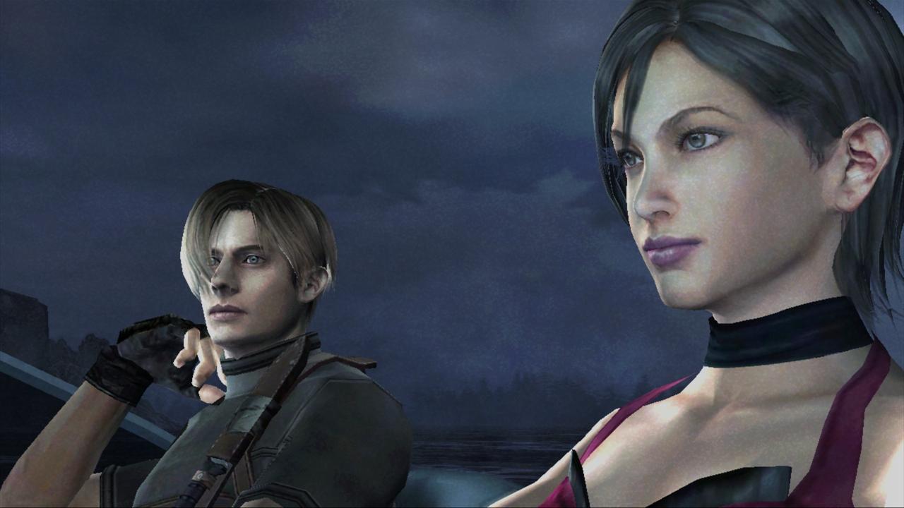 Resident Evil 4 Hd Screenshot Leon And Ada
