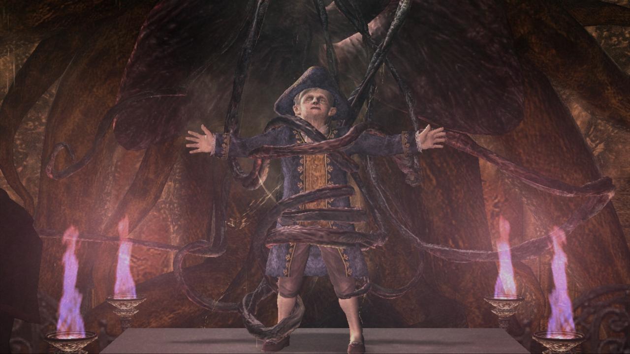 Resident Evil 4 Hd Screenshot Salazar Boss