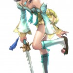 Soul Calibur 5 Leixia Colored Artwork