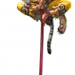 Soul Calibur 5 Xiba Character Artwork