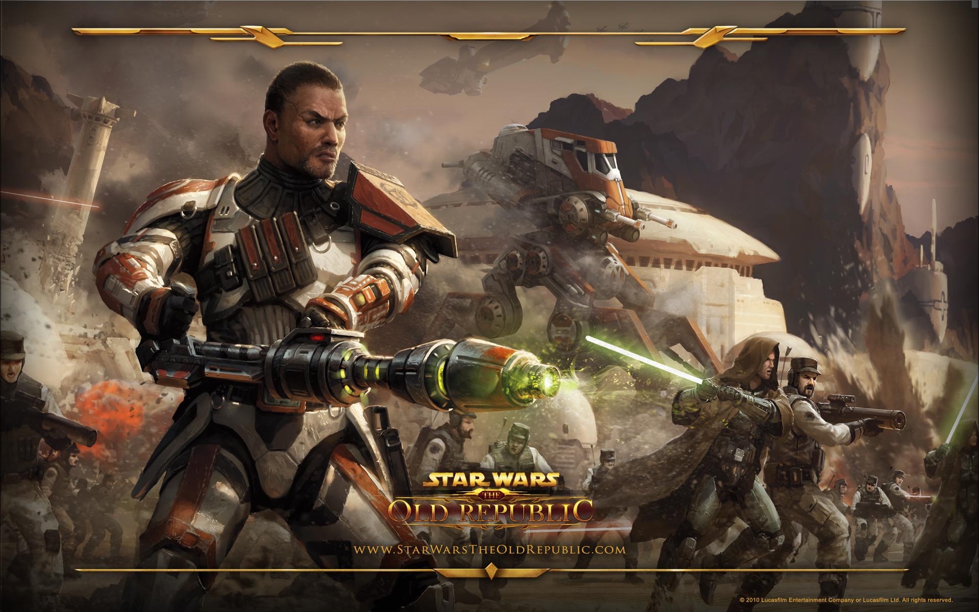 Star Wars The Old Republic Wallpaper Bounty Hunter