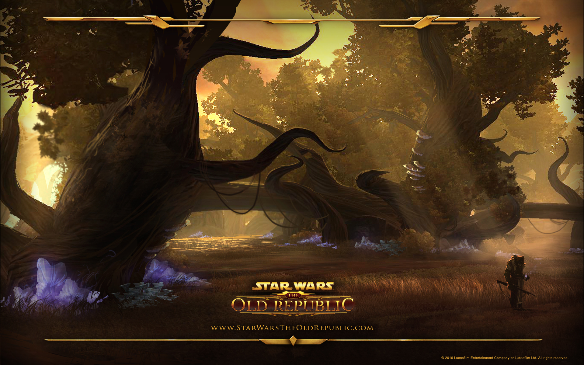 Star Wars The Old Republic Wallpaper Massive Trees