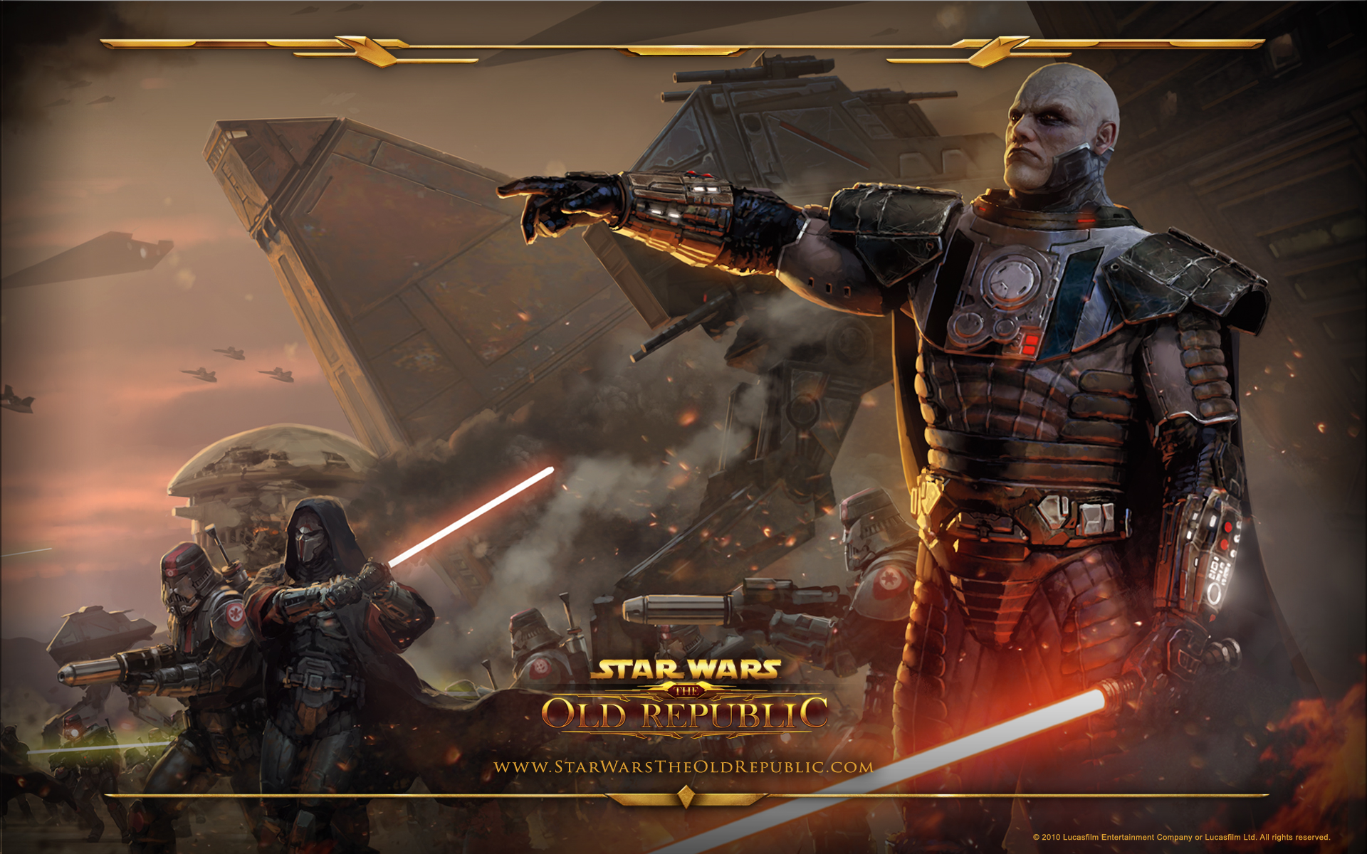 Star Wars The Old Republic Wallpaper Sith Armt