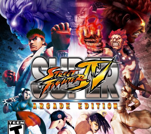 Super Street Fighter IV: Arcade Edition walkthrough box artwork