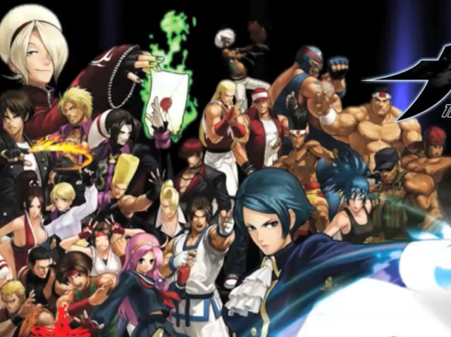 King Of Fighters Xiii Art