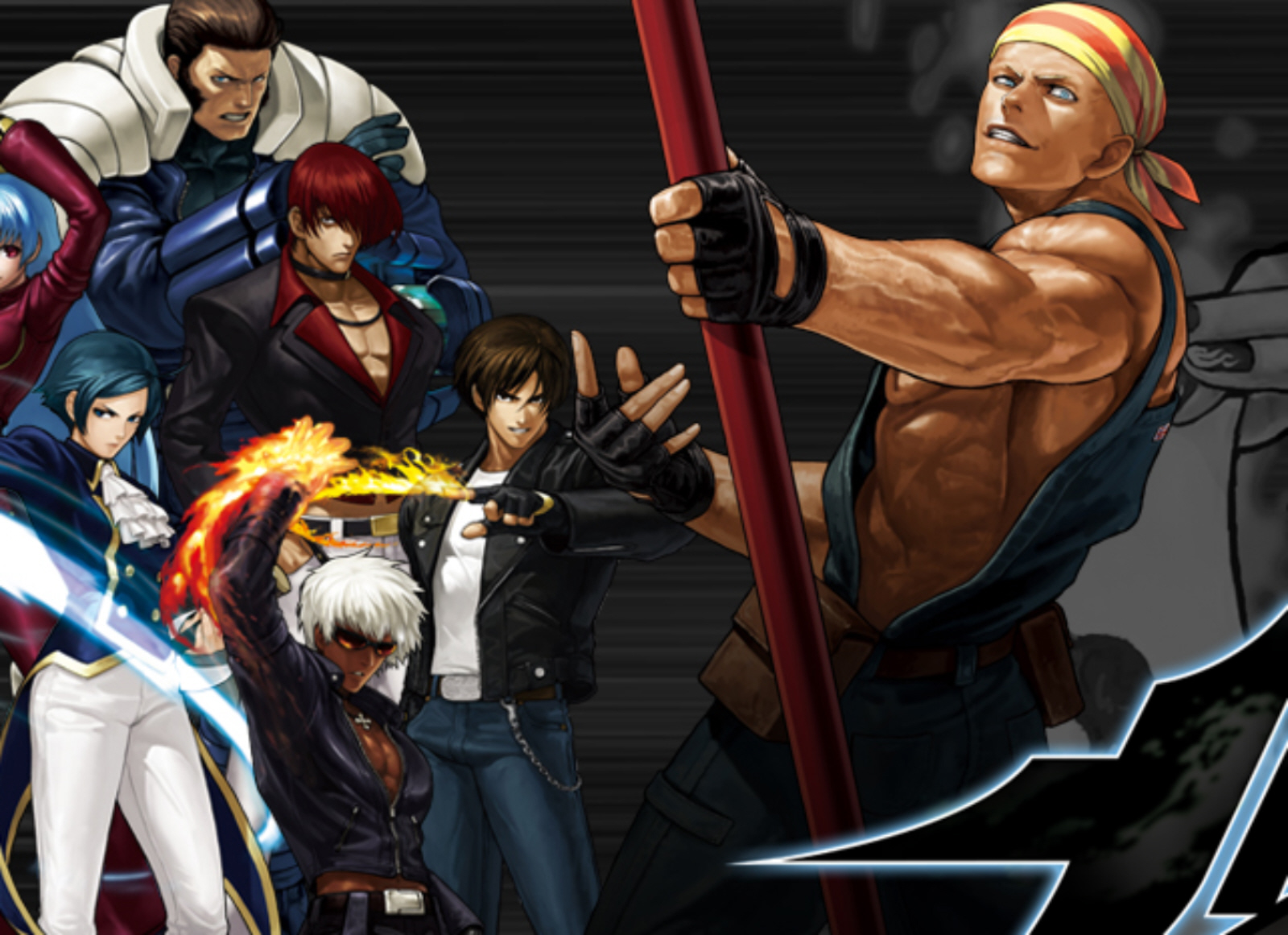 Artwork from The King of Fighters XIII for Xbox 360 and PS3