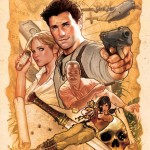Uncharted 3 Wallpaper Cast Poster