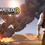 Uncharted 3 Wallpaper Explosion