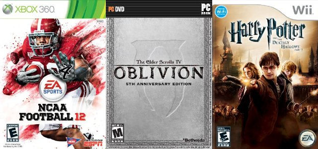 Video Game Releases for Week 28, 2011