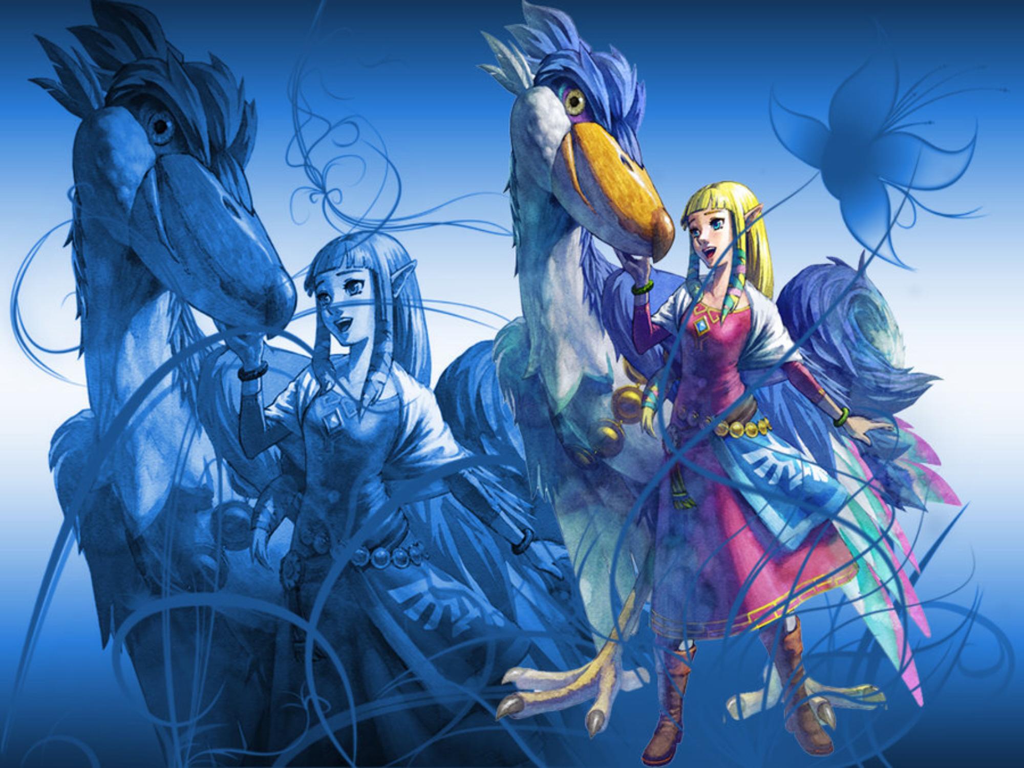 Zelda Skyward Sword Wallpaper Cute Princess Zelda