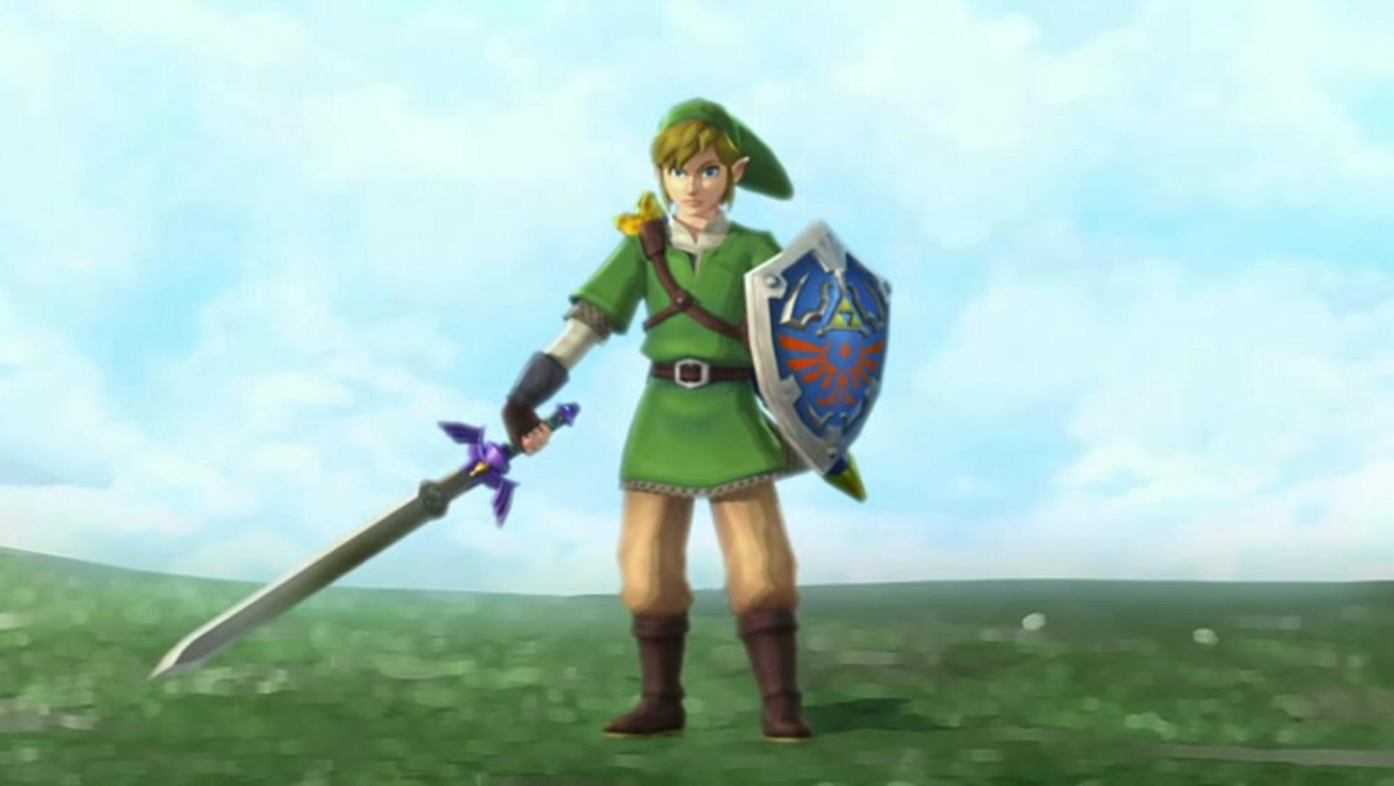 Zelda Skyward Sword Wallpaper Link S New Look
