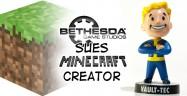 Minecraft Creator Sued By Bethesda