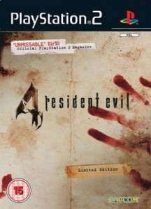 Resident Evil 4 Limited Edition Boxart
